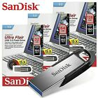 SanDisk Ultra Flair USB 32GB 64GB 128GB 3.0 Flash Drive Memory Stick 130MB/sRead