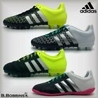 Adidas ACE 15.3/4 FG AG IN Size UK 3 3.5 4 4.5 5 5.5 Boys Girls Football Boots