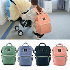 Nappy Mummy Changing Maternity Baby Bag Backpack Diaper Multifunctional Hospital
