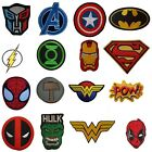 Superhero Movie Iron On Sew On Patches Badges Transfers - Fancy Dress Brand New