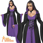 Plus Size Hooded Robe Costume Adult Ladies Sexy Vampire Halloween Fancy Dress