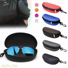 Glasses Case Hard Zipper Sunglasses Clam Shell Travel Pack Portable Protector UK