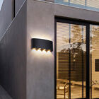 IP65 Sconce Outdoor LED Wall Lamp Garden Corridor Balcony Up Down Lights 4/6/8W