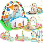 Fitness Music 4 in 1 Play Piano Gym New-Born Baby Play Mat Music Sound Green Fun