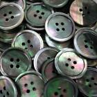 Buttons, Mother of Pearl, Grey Shell ,Many sizes, Sewing Knitting Buttons B0