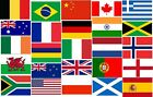 "Flags of the World - 18"" x 12"" - Multi listing - lots to choose from"