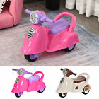 Baby Ride-On Car Pusher Stroller w/ Storage Lights Horn Music 2 Wheels