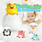 Kids Baby Bath Toy Sprinkle Eggs Spray Duck Penguin Dinosaur Shower Swimming Toy