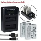 LP-E5 Battery or LCD Charger for Canon EOS 450D 500D 1000D Rebel T1i Xsi X3 X2