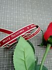 East Of India Ribbon All Lengths Merry Christmas thin Red 3039 Gift Wrap Present