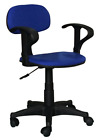 Heavy duty fabric operator / office chair Available in red or blue