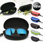 Glasses Case Hard Zipper Sunglasses Clam Shell Travel Pack Portable Protector