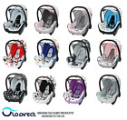 Seat Cover fits Maxi Cosi CabrioFix 0+  100% COTTON  travel Replacement SET