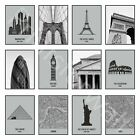 Set of 3 Prints New York London Paris Art Pictures Posters Cities Home Wall Art