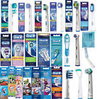 ALL MODELS 100% ONLY GENUINE ORAL-B BRAUN ELECTRIC TOOTHBRUSH REPLACEMENT HEADS