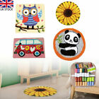 Latch Hook Rug Handmade Cushion Embroidery Making Kits Crafts for Beginners DIY