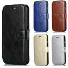 For iPhone 6S 5C 5 4S Premium Leather Magnetic Flip Wallet Card Slots Case Cover