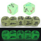 Funny Glow in the Dark Sex Dice Adult Couples Bedroom Toys Stocking Filler