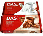 DAS MODELLING CLAY AIR DRYING WHITE & TERRACOTTA CRAFT MODEL PUTTY 150g 500g 1kg