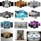 Unframed Modern Flowers Art Oil Canvas Painting Picture Print Home Wall Decor UK
