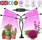 4 Heads LED Grow Light Plant Growing Lamp Lights for Indoor Plants Hydroponics