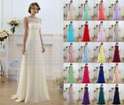 New Formal Lace Wedding Dress Party Evening Ball Gown Long Prom Bridesmaid Dress