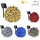 50/100/200/500 LED Solar Power Fairy Garden Lights String Outdoor Party Wedding