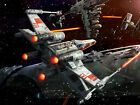 STAR WARS X WING FIGHTER SWXWF01 Poster Art Print A3 A4 BUY 2 GET 3RD FREE