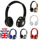 Wireless Headphones Bluetooth Headset Noise Cancelling Over Ear & Microphone UK
