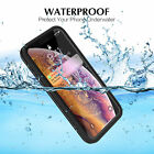 Waterproof Case iPhone X XR XS Max SE 5s 5 6 6s 7 8 Plus 360 Diving Swimming