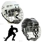 Bauer IMS 5.0 Mens Pro Ice Hockey Helmet & Cage Combo Head Face & Ear Guard