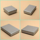 12 x Pack Silver Grey Gift Boxes Jewellery Earring Necklace Packaging Wholesale
