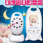 Baby Monitor 2.4GHz Color LCD Wireless Audio Talk Night Vision Digital Video