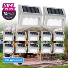 Super Bright Solar Powered LED Door Fence Wall Lights Outdoor Garden Lighting UK