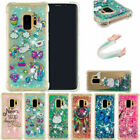 For iPod Touch 5th/6th Gen Bling Liquid Quicksand Soft TPU Clear Slim Case Cover
