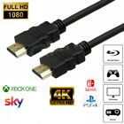 PREMIUM HDMI Cable V2.0 HD High Speed 4K/3D/PS4/Xbox Lead 0.5m/1m/2m/3m/5m/10m