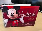 5x7 Personalised Disneyland Paris/Disney World Autograph Book - Choose your name