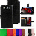 Leather Wallet Book Flip Case Cover Pouch For Samsung Galaxy S3