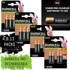 Duracell Rechargeable Batteries AA AAA Ultra/ Plus NiMH Duralock Pre Stay Charge