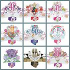 Pop Up Cards Birthdays Card Anniversary Mothers Day Valentine s Day Wedding Day