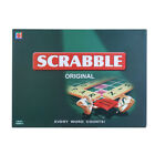 SCRABBLE BOARD GAME WORD PUZZLE FAMILY LETTER CLASSIC GIFT ADULTS PARTY PLAY