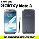5.5inch Samsung Galaxy Note 2 Sealed Brand New Unlocked 16GB 3G Smartphone