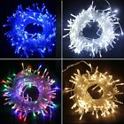Waterproof String Fairy Lights 20-1000 LED Solar Power Battery Plug in Outdoor