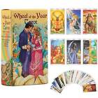 78Pcs Full Color Wheel of the Year Tarot Card Game Deck Cards Fortune Telling UK
