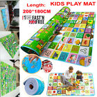 Extra Large Crawl Mat Baby Kid Toddler Playmat Waterproof 2 Side Play Carpet P84