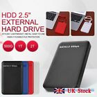 USB 3.0 2TB 1TB External Hard Drive Disk HDD 2.5   Fit For PC Laptop Portable
