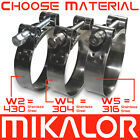 Mikalor Supra Hose Clamps-Clips Stainless Steel Heavy Duty Car T Bolt Exhaust