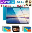 "10.1"" WIFI/4G-LTE 64G Tablet Android 9.0 HD PC bluetooth SIM GPS Dual Camera"