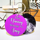 PERSONALISED MOTHERS DAY GIFT WOODEN KEYRING WORLDS BEST MUMMY MUM AUNTIE NANNY