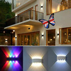 8W LED Wall Lights Up/Down Outdoor/Indoor Lamp Sconce Waterproof Dimmable IP65